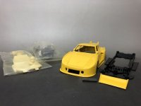 Porsche935 K3 Painted Slot Car Kit Yellow【ポルシェ935 K3 ペイントキット 黄色】