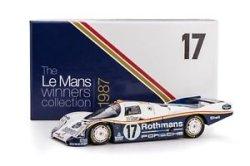 画像1: PORSCHE962C No.17 1st LeMans 1987 Winner 《The Le Mans Winners collection》 (Limited Edition Box)【ポルシェ962C ロスマンズ 1987年ルマン24時間耐久レース優勝車両】