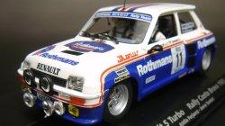 画像1: 【再入荷】RENAULT 5 Turbo No11 Rothmans【ルノーサンクターボ ロスマンズ】『平行輸入品』