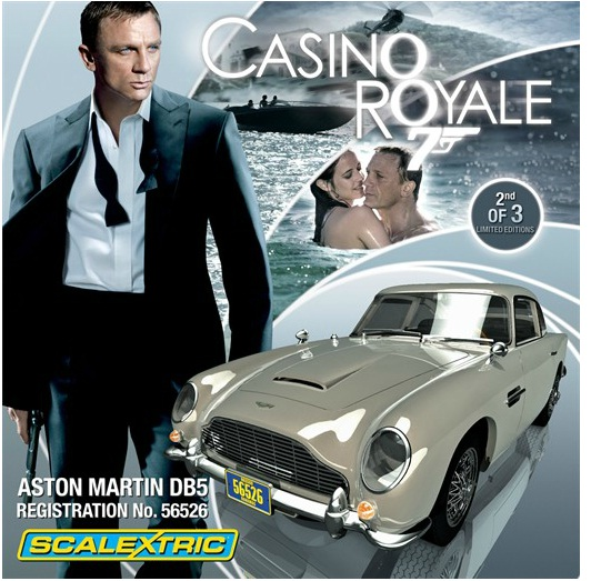 James Bond 007 Aston Martin DB5 Casino Royale Limited
