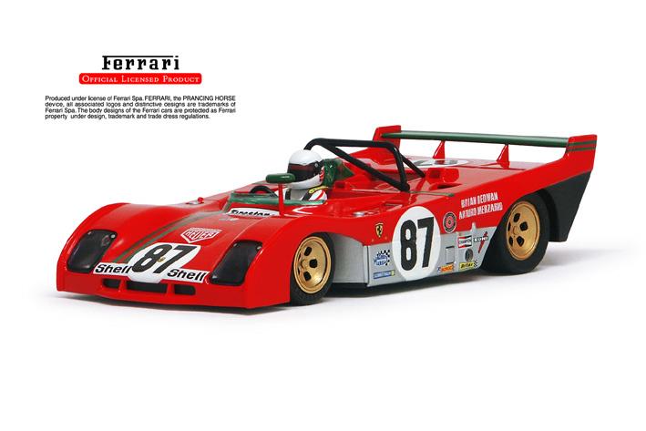 再入荷】フェラーリ312PB[Ferrari312PB]No87 タルガ ...